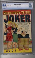 Timely-Joker Comics #33 CBCS 8.0 OW/White Pages Blue Label - Highest Graded 1of2
