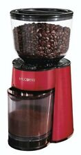 Mr. Coffee BVMC-BMH26 Automatic Burr Mill Grinder, Red