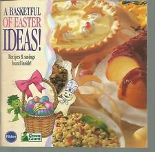 A Basketful of Easter Ideas Pillsbury Booklet 1995
