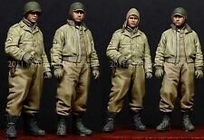Alpine m 35116 WW2 us afv crew figure set 1/35th non peinte kit