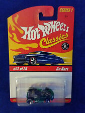 2005 Hot Wheels CLASSICS  SERIES 1 #22/25 GO KART - Green