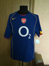 ARSENAL LONDON #ENGLAND 2004/2005 #AWAY FOOTBALL SHIRT JERSEY MAGLIA #NIKE