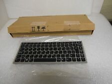New Lenovo French Canadian Keyboard 25011671 IdeaPad G470 G475 T2T7-FrEn