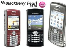 Blackberry Pearl 8110 Rosso (Senza SIM-lock) 4 nastro 2mp LED Flash GPS BLUETOOTH NUOVO