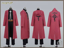 Fullmetal Alchemist Edward Elric's Cosplay Party Costume Custom Any Size