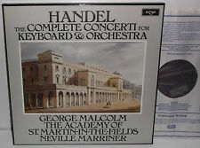D3D 4 Handel The Complete Concerti For Keyboard & Orchestra George Malcolm ASMF