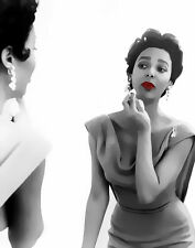 Dorothy Dandridge Mirror Image Pop Art Canvas 16 x 20 #5652