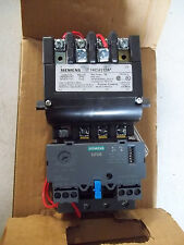 NEW Siemens Nema Size 0 Magnetic Motor Starter, 120 to 240VAC Coil 14CUA32AA