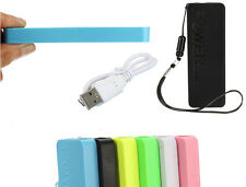 5600mAh Slim Portable USB Power Bank Battery Charger Pack for iPhone Samsung