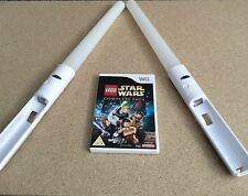 LEGO Star Wars: The Complete Saga Nintendo Wii PAL COMPLETE With 2 LightSabers
