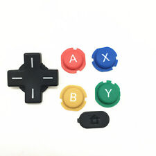 It Replacement ABXY Cross Press Key Pad Button Part for Nintendo NEW 3DS Console