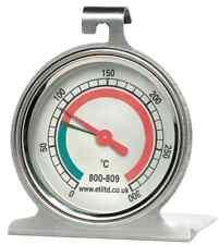 55mm Forno in Acciaio Inox Quadrante Termometro-Shelf impiccagione o in piedi