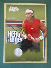 RAFAEL NADAL Ace Tennis 2006 Heroes & Legends JERSEY CARD 007/500 RARE