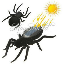 Educational Solar Energy Powered Spider Robot Toy Gadget For Kids O タ