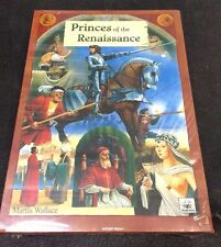 Princes of Renaissance by Martin Wallace Warfrog Games Shrink Wrapped New SEALED