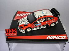 NINCO 50469 SLOT CAR FORD FOCUS WRC  #11 MUNCHIS COMPANC  MB