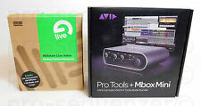 Avid mbox 3 mini 2x2 Audio Interface + Ableton Live 8 Intro software + garantía