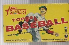 2005 Topps Heritage Baseball Box Factory Sealed In Plastic