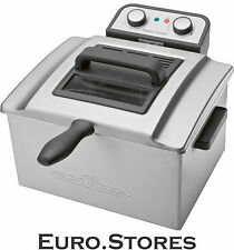 PROFI COOK PC-FR 1038 Double Deep Fat Fryer 3000W Stainless Steel Genuine New