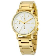 NWT DKNY NY2274 Soho Women's Watch Gold Tone Chronograph Stainless Steel  $195