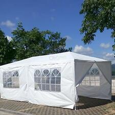 10'x 20' Party Tent Outdoor Heavy Duty Gazebo Wedding Canopy w/6 Side Walls
