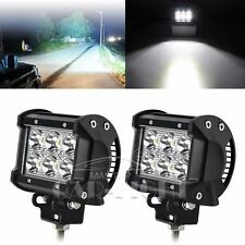 CREE LED LIGHT BAR WORK SPOT LAMP OFFROAD BOAT UTE CAR TRUCK SUV 18W 1800 LUMENS