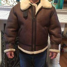 Men's B3 Bomber jacket 100% Sheepskin Size  Medium/Large