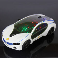 For Children Interesting Electric Music Toy Car With Flash Light Multicolor