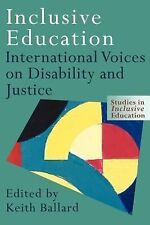 NEW - Inclusive Education: International Voices on Disability and Justice