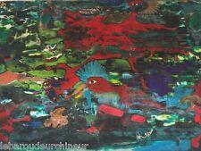 Peinture oiseaux par Serge Damon cote