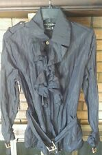 Black Label Ralph Lauren Ruffle Jacket, NWOT Size 8