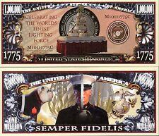 USMC Birthday Million Dollar Novelty Money