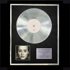 ADELE 25  CD PLATINUM DISC VINYL LP FREE SHIPPING TO U.K.
