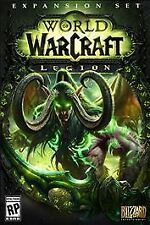 WORLD OF WARCRAFT LEGION * WINDOWS / MAC * BRAND NEW FACTORY SEALED!
