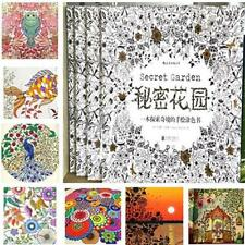 Hotest Chinese Secret Garden An Inky Coloring Painting Book For Children Adult