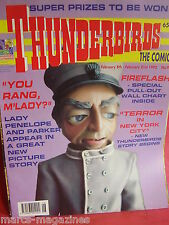 THUNDERBIRDS INTERNATIONAL RESCUE 1992 ISSUE # 9 WALL CHART FIREFLASH PARKER