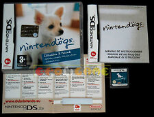 NINTENDOGS CHIHUAHUA & FRIENDS DS Versione Italiana Vip New ••••• COMPLETO