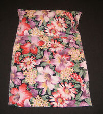 FLORAL PRINT SLEEPING BAG  for BEANIE BABIES or SMALL DOLLS