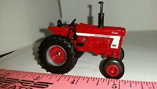 1/64 ERTL custom international open station 1066 white stripe tractor farm toy