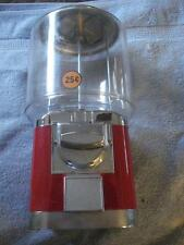 VINTAGE 25 CENT COUNTER TOP GUMBALL/VENDING MACHINE