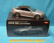 1:18 Kyosho - BMW M6 Convertible - Silver NEW IN BOX