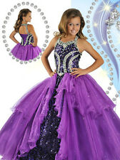 NEW Communion Party Prom Princess Pageant Bridesmaid Wedding Flower Girl Dresses