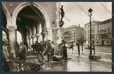 Venezia città Pescivendolo Foto cartolina EE3786