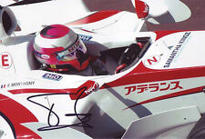 Franck Montagny - F1 Super Aguri autograph - Signed 8X12 Inchhes F1 2006 Photo