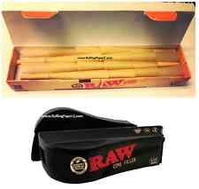 RAW MEGA PACK of 32 CONES - 1 1/4 RAW PreRolled rolling papers + FILLER SHOOTER