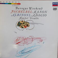LP Baroque Weekend - Pachelbel - Händel - Vivaldi,MINT ,DECCA 6.43587 AD,Rar