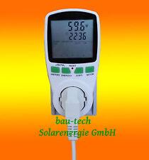 Strom - Spar - Zähler für Solar PV Anlagen Photovoltaik Windkraft -weiß