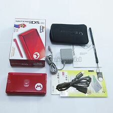 Brand New Mario M Red Nintendo DS Lite HandHeld Console System + gifts
