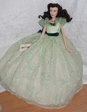 Gone With The Wind Franklin Mint Scarlett O'Hara Vinyl Portrait Doll BBQ