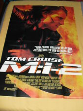 M:I-2 Mission Impossible Afiche Allemande Poster 80 x 120 Tom Cruise John Woo